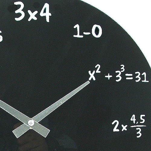 e6d970964de8 Reloj de Pared Matemáticas