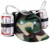 Casque pour boissons camouflage