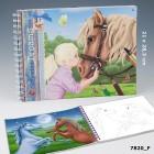 Cuaderno Colorear Horses Dreams TOPModel
