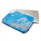 Map Laptop Case