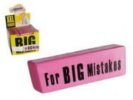 Giant Rubber Eraser