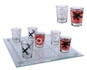 Jeu de Verres &agrave; Liqueur Morpion