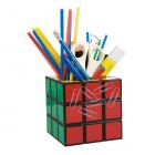 Organiseur de crayons Rubik Cube