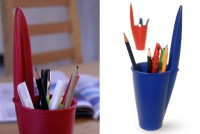 Pot à crayons Bouchon Stylo Bic