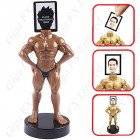 Bodybuilder Figure Picture Frame