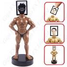 Cadre Photos Figurine Culturiste
