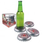Bottle Top Coasters