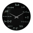 Horloge en verre Math&eacute;matiques