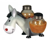 Donkey Salt and Pepper Cellars