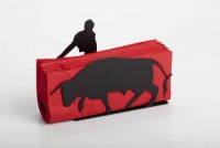 Bullfighter Napkin Holder