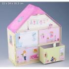 Boîte à Bijoux Sweet Home Box House