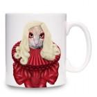 Taza Mug Gato Lady Gaga
