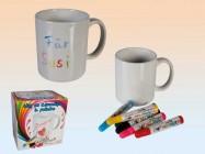 Tasse pour enfants à colorier