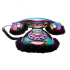 Retro Black Mother of Pearl Phone